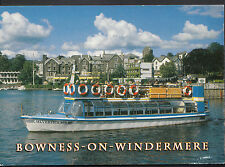 Cumbria Postcard - Silverholme Boat - Bowness on Windermere  LC5329