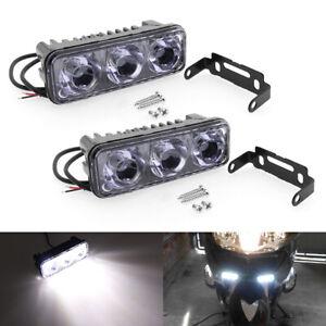 2X High Bright LED Work Lamp Fog Daytime Running Light Car Motorcycle  Universal