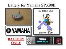 Battery for Yamaha SPX90II FX Processor - Internal Memory Replacement Battery