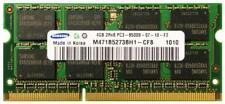 RAM 4GB DDR3 PC3-8500S 2Rx8 1066MHz PORTATILE MEMORIA SODIMM NOTEBOOK LAPTOP