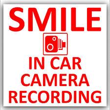 In Car Camera Recording Sticker-CCTV Sign-Van,Lorry,Truck,Taxi,Bus,Mini Cab-D2