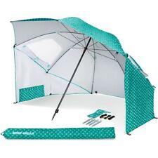 Uv Beach Umbrella SPF Large Tent Canopy Outdoor Sports Picnic Sun Shelter 8 Foot