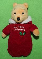 Disney my First Christmas Winnie Puuh Pooh Kuscheltier Stofftier 32cm RAR TOP