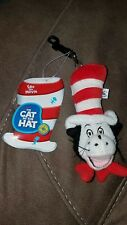 New Dr. Seuss CAT IN THE HAT Movie Merch 2003 CLIP-ON Key Chain Backpack Clip