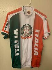 Italia / Italy Cycling Jersey Mens M New