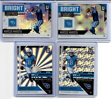 2018 Panini Unparalleled Marcus Mariota SP #/200 Lot x4 Flight Shine Astral