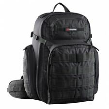 NEW Caribee Ops  50L Backpack Lack - in BLACK - Travel Laptop Backpacks -