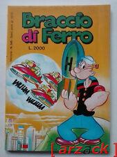 BRACCIO di FERRO N 545 Grafica Editoriale METRO 1990