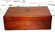 Victorian Writing Slope Stationery Box antique School prize 1872 [PL4149]