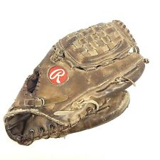 Vintage Rawlings Pro-B Gold Baseball Glove Series Heart of the Hide RHT USA