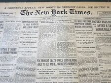 1930 DECEMBER 7 NEW YORK TIMES - DUNCAN DANA IS DROWNED OFF MARBLEHEAD - NT 5625