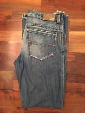 High Rise 34L Jeans Bootcut Distressed for Men