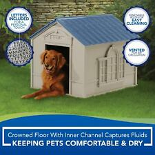 Xxl Dog Kennel For X-Large 100 lbs Outdoor Pet Cabin House Big Shelter New Large