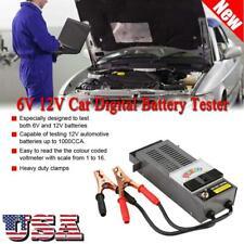 6V 12V Vehicle Battery System Tester Car Charging Test Analyzer Diagnostic Tool