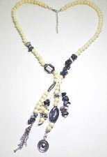 Markenlose Modeschmuck-Halsketten & -Anhänger aus Glas und gemischten Metallen