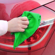 50PCS verde pulizia in microfibra auto dettagli morbido PANNI LAVAGGIO
