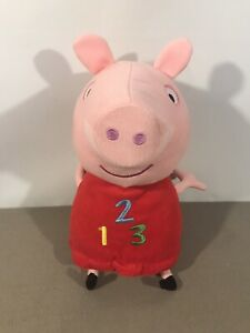 Peppa Pig 123 Talking Toy Soft Toy