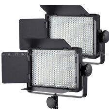 Pixapro 2xleco500 Video Lighting Panel Led Regulable película entrevista Luces Control Remoto