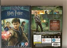 HARRY POTTER AND THE DEATHLY HALLOWS PART 2 DVD SEALED INCLUDES SLIPCASE 2 DISCS