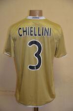 JUVENTUS ITALY 2008/2009 AWAY FOOTBALL SHIRT JERSEY MAGLIA NIKE #3 CHIELLINI