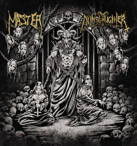 Master / Nunslaughter Split LP (BLACK) death metal incantation cannibal coprse