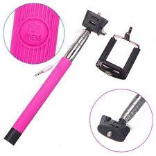 Supports de GPS Selfie stick rose pour téléphone mobile et PDA