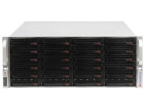 "DISK ARRAY CSE-846 4U 24x 3.5"" SATA 9650SE-24M8 CHIA - up to 192TB 2x PSU"