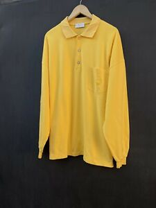 vintage yellow MCM longsleeve Made in italy size XL/XXL