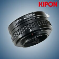 Kipon macro helicoid adapter for Leica R lens to Fuji X-Pro2 X-T2
