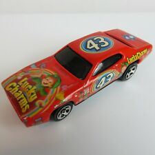 Vintage Richard Petty Salute #43 Lucky Charms Hot Wheels Plymouth GTX