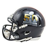 DENVER BRONCOS SUPER BOWL 50 CHAMPIONS - Mini Football Helmet IN-STOCK