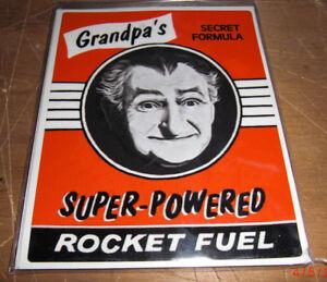 VINTAGE STYLE CHEVY FORD VW GMC GRANDPA MONSTER BUMPER STICKER HoT RAT ROD 60S