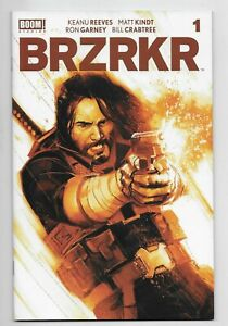 BRZRKR #1 Boom Comic 2021 Reis Brown Variant Cover Limited 500 Keanu Reeves