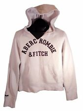 WOMEN'S AMBERCROMBIE AND FITCH LIGHT PINK HOODIE L, BLEMISH SALE (G)