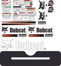 Bobcat S650 Aftermarket Decal Kit with control. Very High Quality