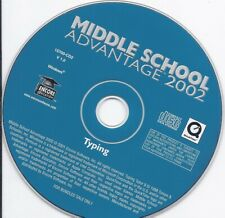 Typing - Middle School Advantage 2002 Cd