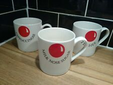 More details for red nose day comic relief set of three collectable mugs