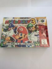 *AUS SELLER* nintendo 64 MARIO PARTY 3 n64 COMPLETE IN BOX