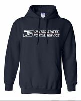 Navy Blue USPS POSTAL HOODED SWEATSHIRT POSTAL