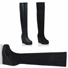 High Heel (3-4.5 in.) Wedge Party Boots for Women