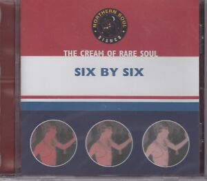 """Cream Of Northern Soul """"Six By Six"""" Various Artists NEW & SEALED CD - 18 Tracks"""