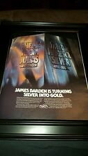 James Barden Thirty Pieces Of Silver Rare Original Promo Poster Ad Framed!