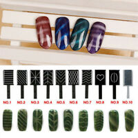 11 Pieces/set 3D Magnet Stick Magnetic Cat Eye Pen For Nail Gel Polish AB