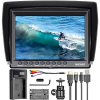 Neewer F100 7-inch IPS Screen Camera Field Monitor Kit with Battery for DSLR