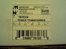 New Hammond Manufacturing 187E24 Power Transformer Quantity of 2