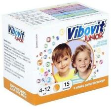 VIBOVIT Junior x 15 sachets - orange stimulate the immune system