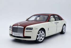 1/18 KYOSHO ROLLS ROYCE GHOST DIECAST WHITE CAR MODEL RARE COLLECTION FOR GIFT