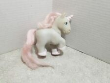 Vintage G1 RARE Totsy Clone Fake My Little Pony 1982 - Gray Unicorn Pink Hair