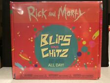 Rick and Morty Blips and Chitz Arcade Exclusive Funko Pop Vinyl Box New Sealed
