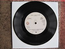 "PATTI AUSTIN & JAMES INGRAM - BABY, COME TO ME - 7"" 45 rpm vinyl record"